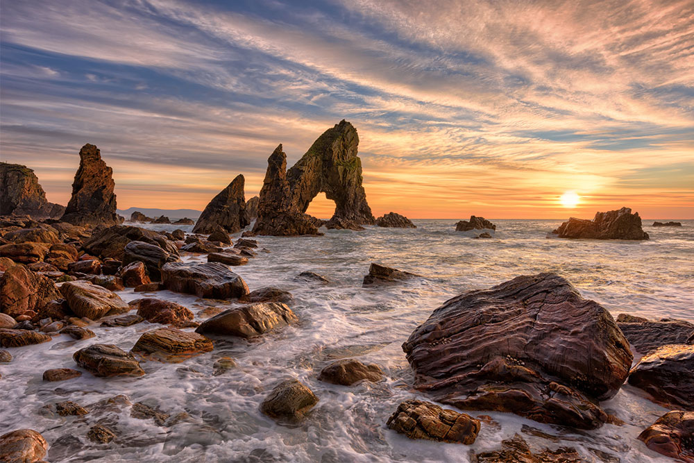 Crohy Head Sea Arch Stack | Irish Landscape Photographer